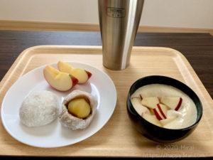 筋トレ前の和菓子5
