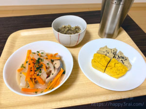 サバ缶の野菜マリネ南蛮風定食