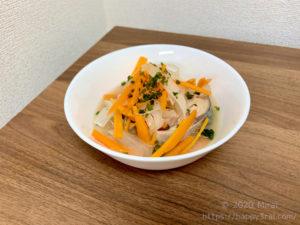 サバ缶の野菜マリネ南蛮風完成