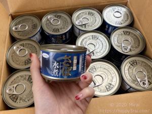 サバ缶をネットでまとめ買い