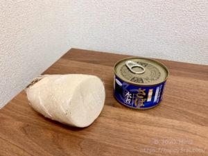 サバ缶のおろし煮の最低限の材料