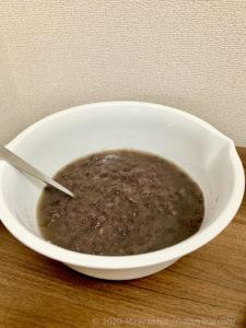 まとめて煮たラカント小豆