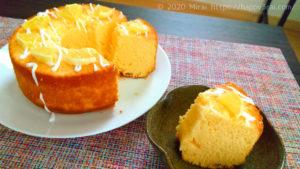 ダイエットにもおすすめレモンの手作りシフォンケーキ