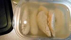 電気圧力鍋クッキングプロで作った茹で鶏を作り置き