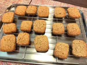 低脂質そば粉クッキー完成3