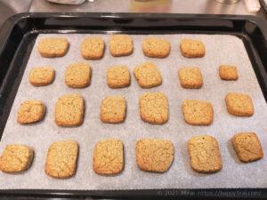 低脂質そば粉クッキー完成2