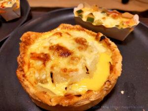 バター50%OFF低カロリーパイ生地のキッシュえびほたて2