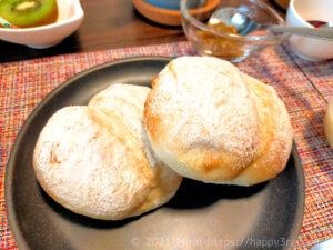 低脂質な手作り白パン